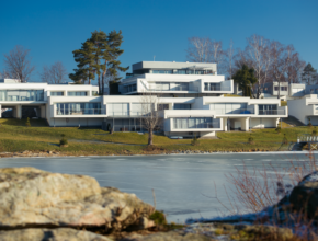 Lemon Resort Spa – modernistyczny ośrodek nad Dunajcem