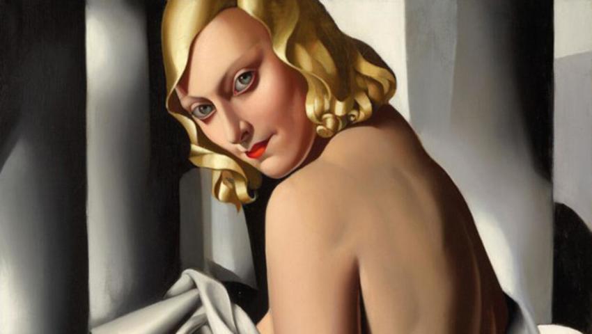 Obrazy w stylu art deco – polska malarka Tamara Łempicka