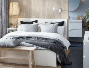 Szukasz pomysłu na tanie urządzenie sypialni? Ikea łóżka Malm to świetna propozycja