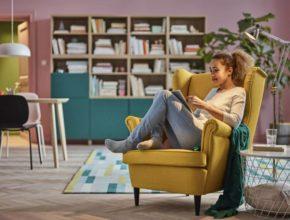 Fotel uszak Ikea i jego zalety