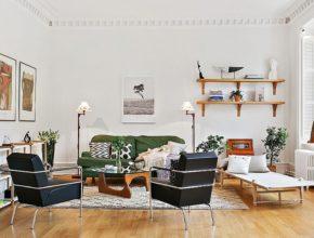 Salon w stylu skandynawskim? Brzmi pięknie.