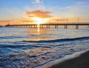 Zima nad morzem – Mechelinki
