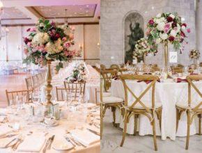Kandelabry – modna ozdoba stołów weselnych