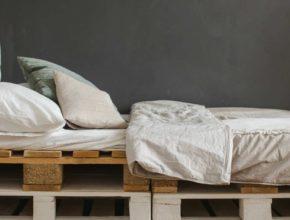 Łóżka z palet dla dzieci