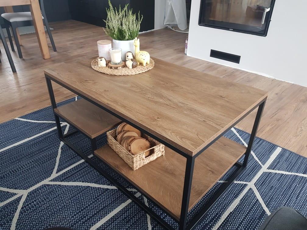 Jak zrobić samodzielnie industrialny stolik kawowy?