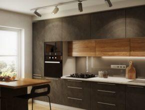 Kuchnia czarno drewniana – zalety i wady