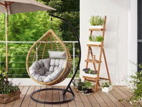 Jaki wybrać fotel wiszący do ogrodu?