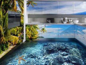 Podłogi 3D łazienka – co powinniśmy o nich wiedzieć?