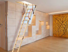 Jakie wybrać schody na poddasze?