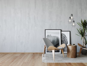 Farba imitująca beton – szybki i tani sposób na uzyskanie betonu na ścianie